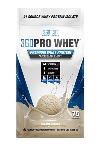 360CUT PRO Whey  Pure Whey Protein Isolate Protein Powder to Boost Metabolism Build Lean Muscle Mass Enhance Recovery  Gluten Free Easy to Digest Whey Protein Powder  Creamy Vanilla 75 Serving For Sale https://probioticsandweightloss.info/360cut-pro-whey-pure-whey-protein-isolate-protein-powder-to-boost-metabolism-build-lean-muscle-mass-enhance-recovery-gluten-free-easy-to-digest-whey-protein-powder-creamy-vanilla-75-serving-f/