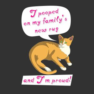 I pooped on my family's new rug - and I'm proud! | Fabrily