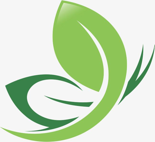 Green Leaf Logo Design Green Leaves Green Leaves Logo Png And