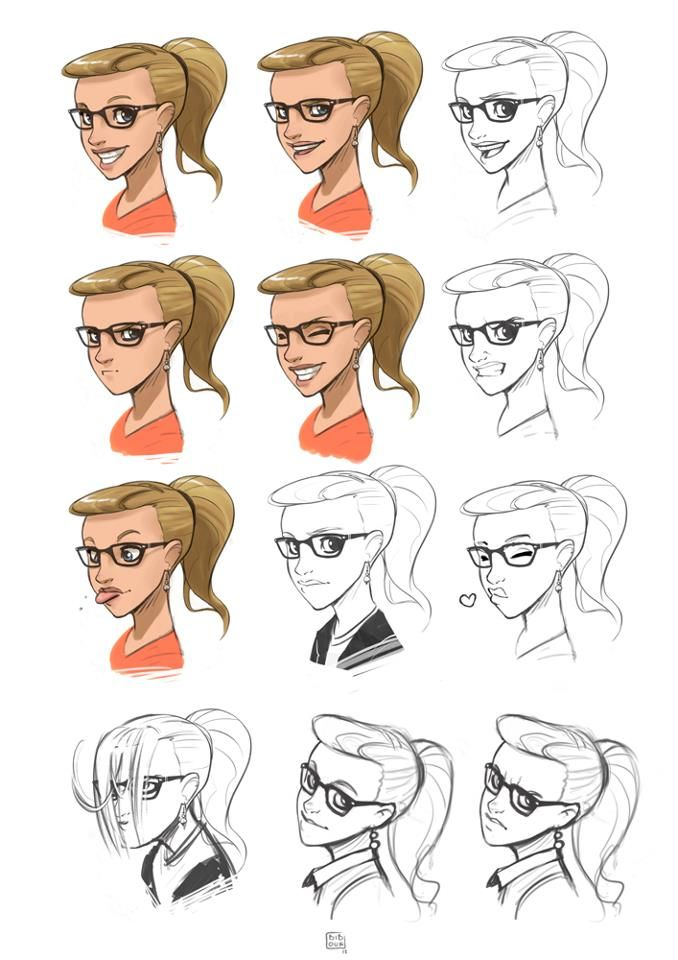 Character Design Expression : Best images about itslopez on pinterest sketching my