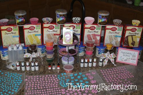 Cupcake war birthday party..look at all the fun and possiblities the kids can have...I really think this may be the winning idea for Emmalee's next birthday!!!