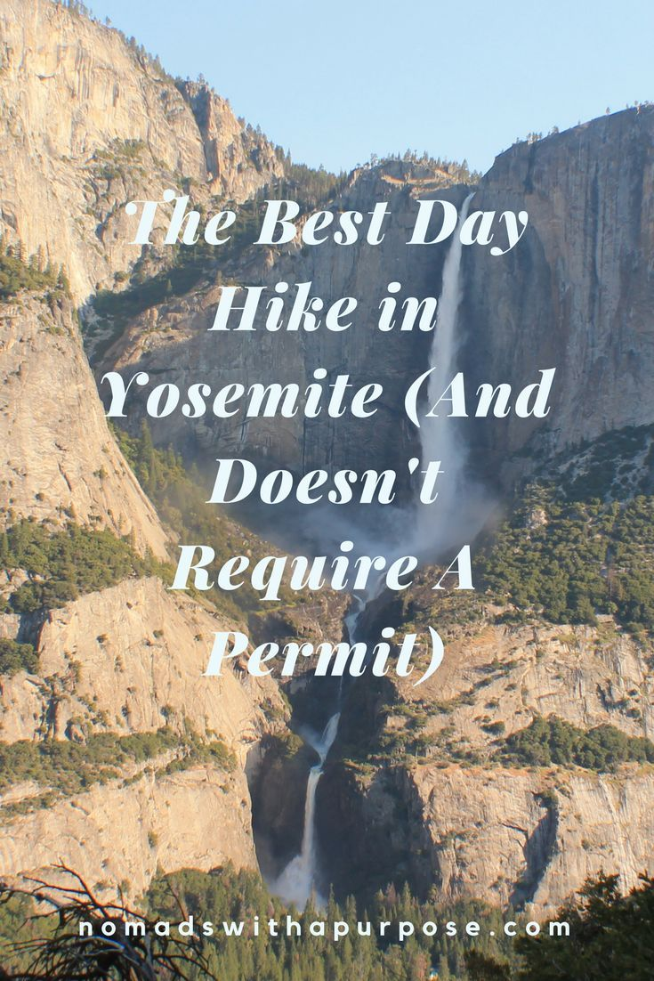 The Best Day Hike in Yosemite (And Doesn't Require A Permit