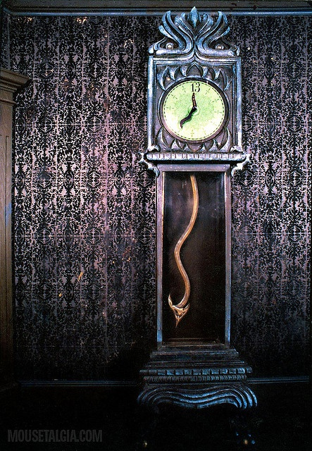 Haunted Clock Disney Waltdisneyworld Wdw Hauntedmansion