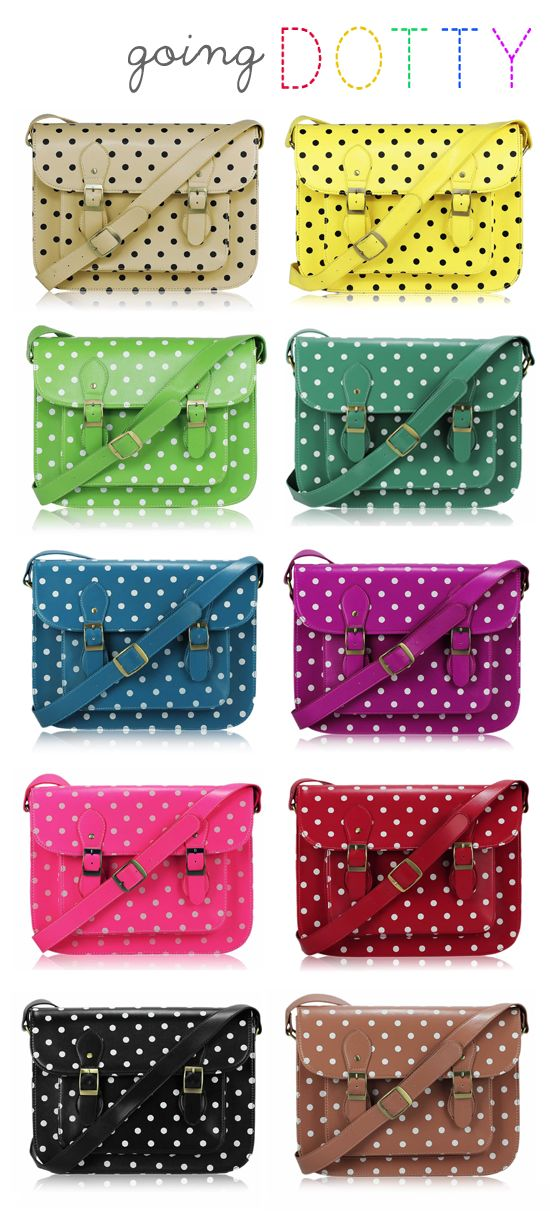 I LOVE #09 - POLKA DOT SUMMER SATCHELS