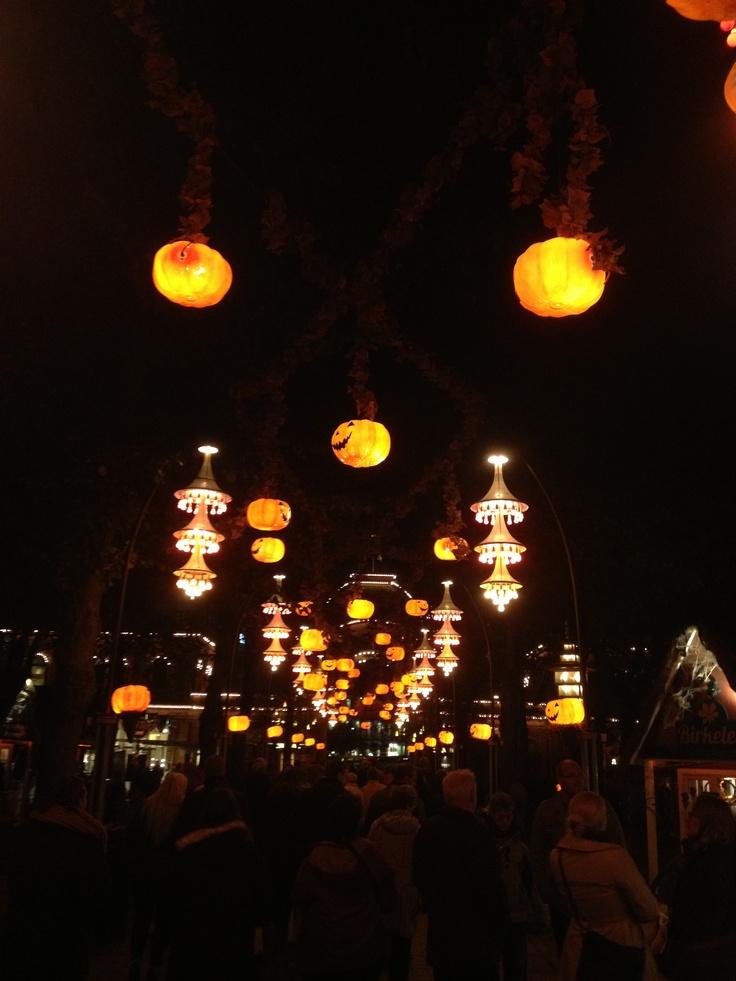 Halloween in Tivoli, Copenhagen