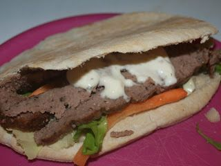 My Slimming World: Lamb Kebab, this is amazing. Taste's just like the takeaway version!
