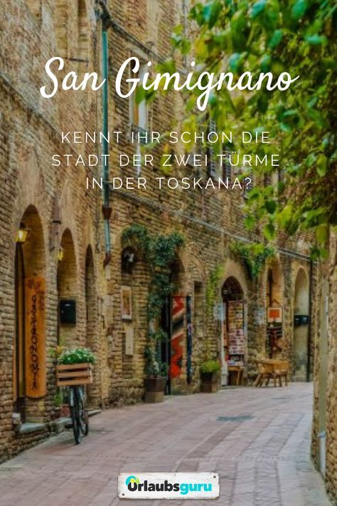 San Gimignano – Das Manhattan der Toskana
