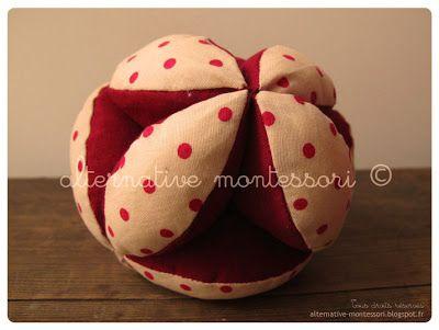 // alternative montessori: Balle de préhension //Alternative Montessori