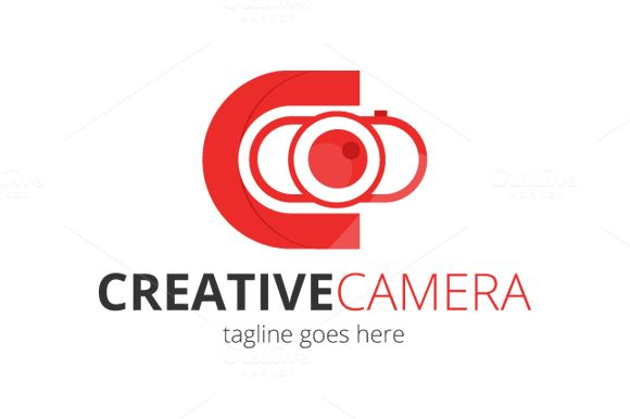 Creative Camera Logo Design by Florin Chitic on @creativemarket