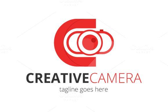 Creative Camera Logo Design by Florin Chitic on @creativemarket