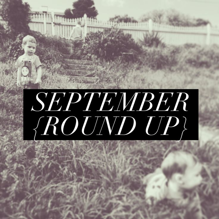Blogging is still taking a back seat, but I am happy to report that September was a much better month than August! I did get sick, again, and almost lost my voice, but other than that it was largel…