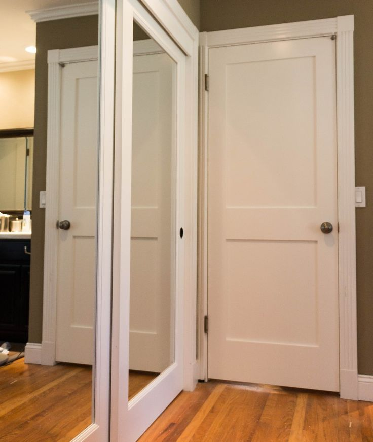 Modern White Wood Panel Simpson Door Design Collections With Great Rectangle Shaped Door Slab