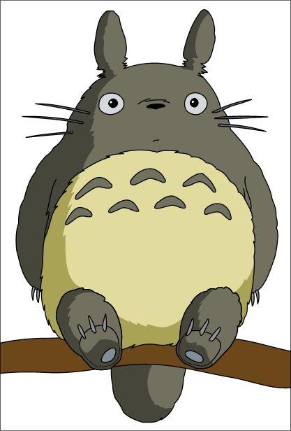 The adorable Totoro from Studio Ghibili's film My Neighbor Totoro.