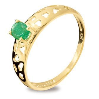 Buy our Australian made Emerald Fun Ring - BEE-25159-E online. Explore our range of custom made chain jewellery, rings, pendants, earrings and charms.
