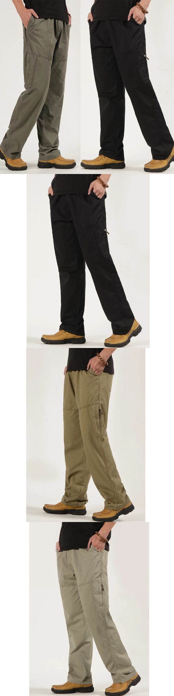 6XL Plus size High Quality Mens Cargo Pants Casual loose Men Pant Multi Pocket Military Overall Men Outdoors sweatpants Trousers