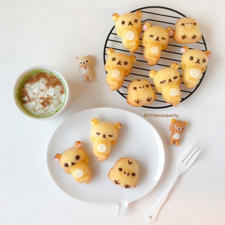 Recipe Rilakkuma Honey Cakes♡