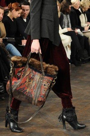 Accessory of the Day: Ralph Lauren's Carpet Bag