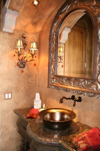 Mediterranean bathroom by vm concept interior design for Bathroom interior design concepts