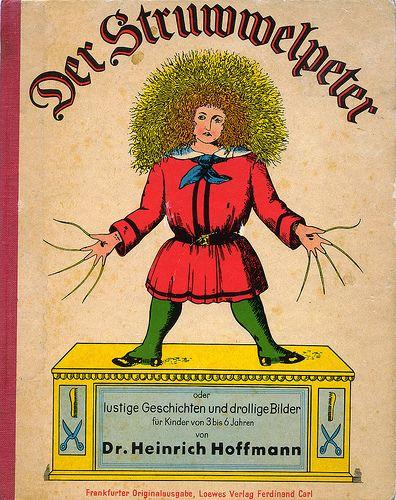 Der Struwwelpeter von Heinrich Hoffmann. Grausame Geschichten, die Bilder haben mich als Kind teilweise echt schockiert.