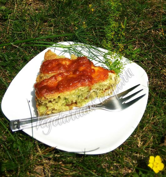 Кабачковый пирог рецепт