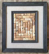 Cork Frame with Hooks