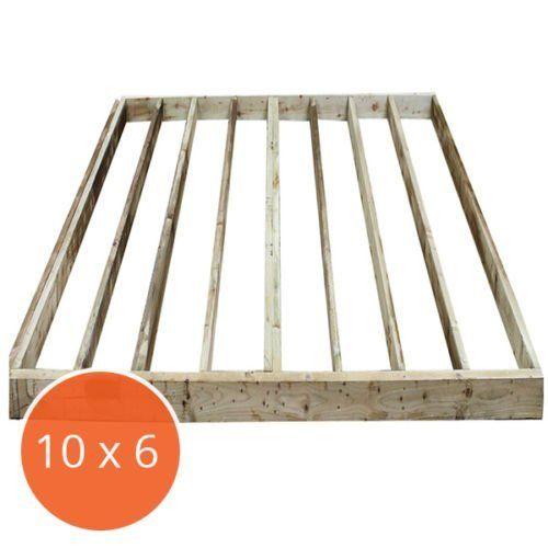 10 x 6 Portabase DIY Kit Pressure Treated Timber Shed