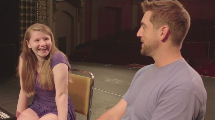 Love Aaron Rodgers. What an awesome guy. I love how she just giggles in the beginning. I'm sure that would be my reaction.