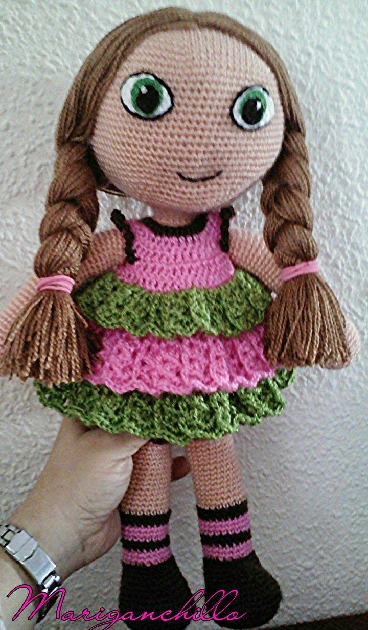 Patrón muñeca Amigurumi