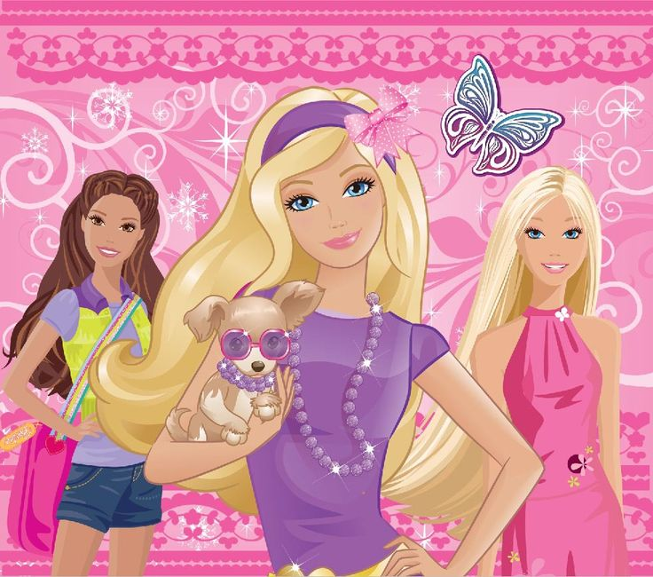 wallpaper barbie Pesquisa Google barbiee Pinterest
