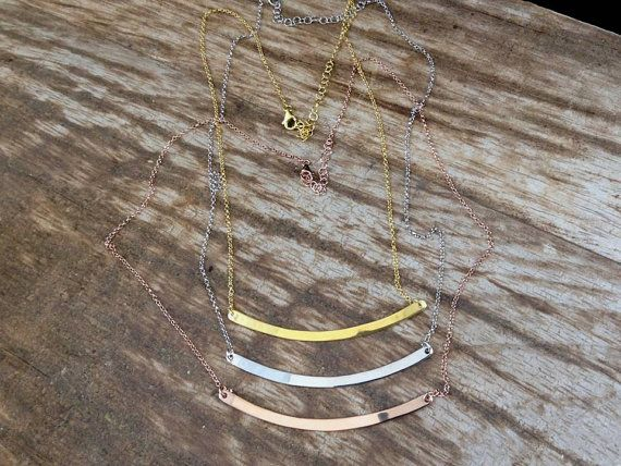 Gold necklaceGold plated silver sterling 925  by PlusLoveStudio - 36.80euro