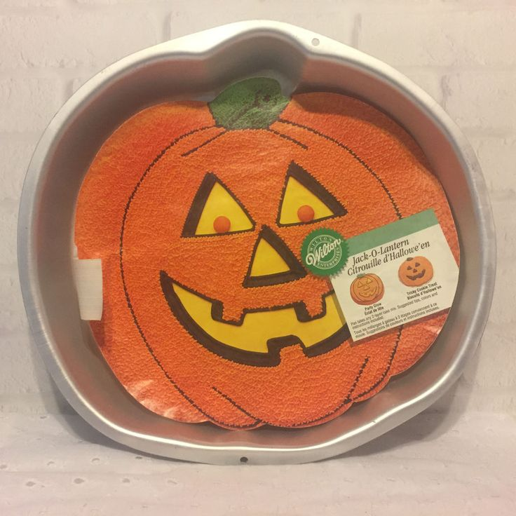 Wilton Pumpkin Cake Pan Instructions