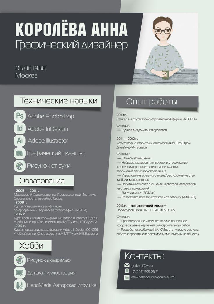 Фрилансер резюме дизайнера работа фрилансера вакансии украина