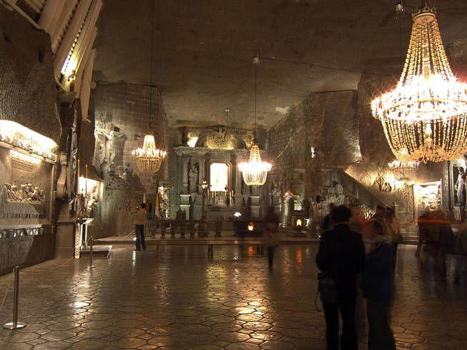 Mina de sal de Wieliczka. (Shutterstock)