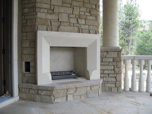 Cast Stone Fireplace Surround Cast Stone Fireplace Mantels | Pre . - 17 Best Images About Mantels On Pinterest Stone Fireplace