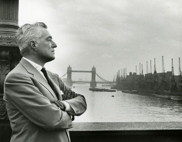 Vittorio De Sica a Londra, anni Cinquanta #mostradesica