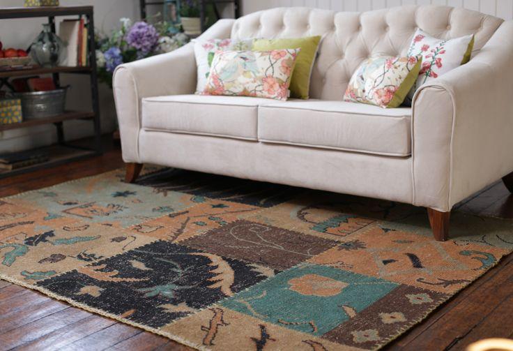 Descubre toda la variedad de #alfombras que #DecoBazar Trajo para ti en Homy.cl #Étnico #Boho #Botánica #Textiles #Homy