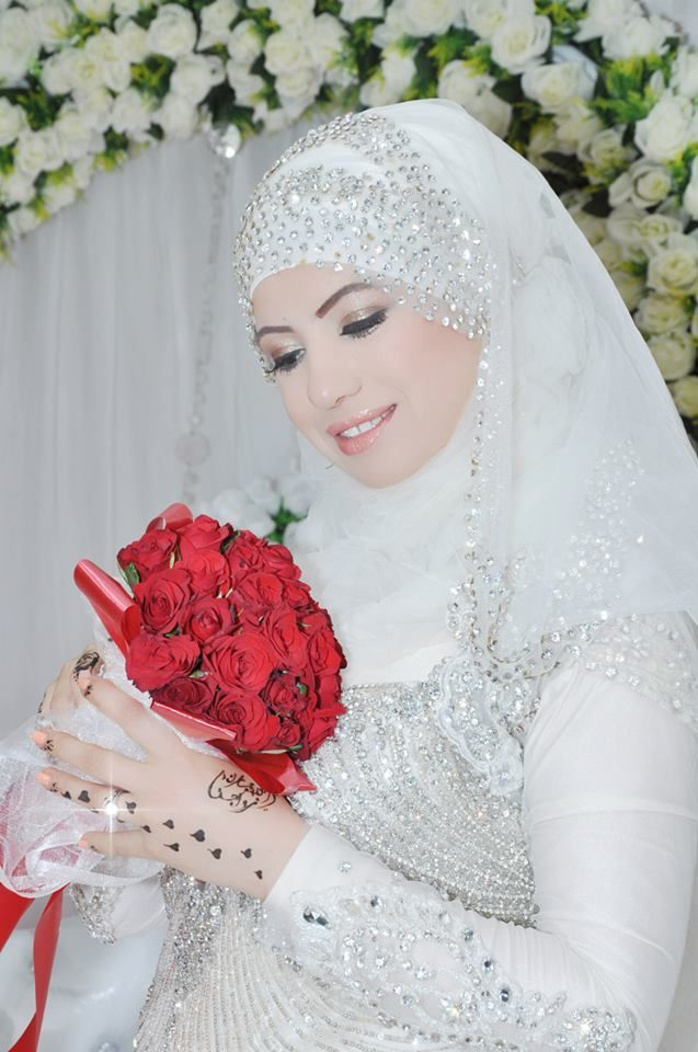 346 best muslim bridal images on pinterest for Wedding dresses for muslim brides