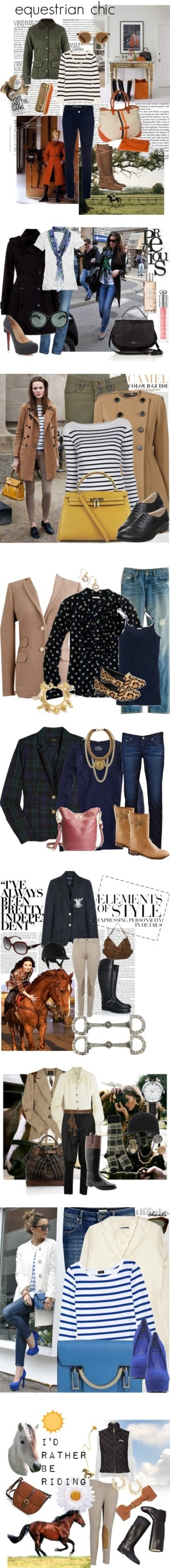"""Equestrian"" by laurabankslewis on Polyvore"