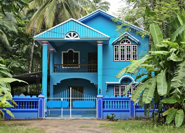 Vivek Vilasini Colored Houses Series Kerala India H