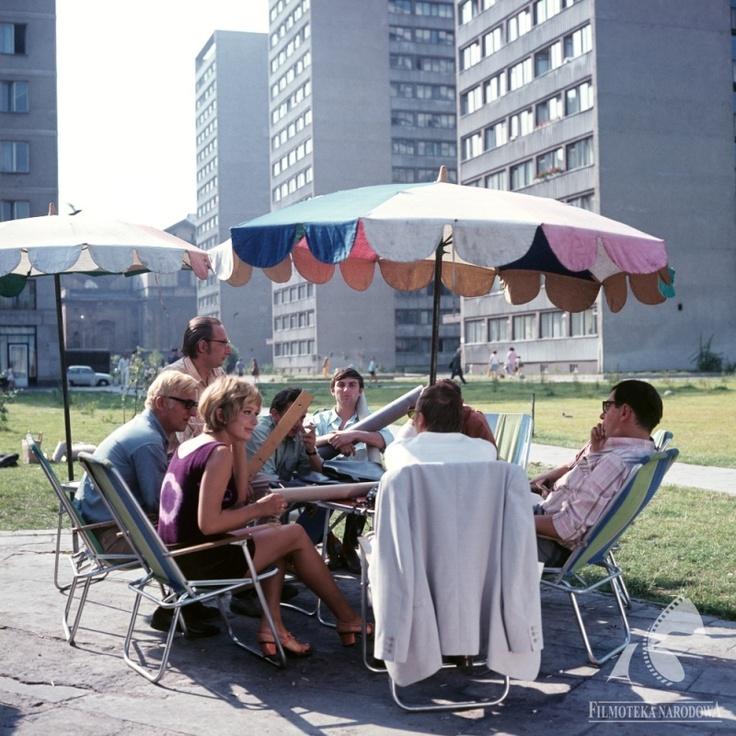 "Still from Andrzej Kondratiuk's ""Hydrozagadka"", 1970. Photo: The National Film Archive"