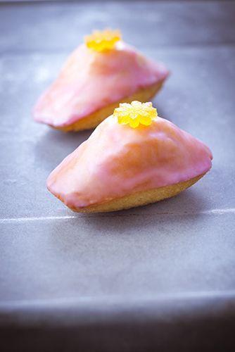 madeleines avec citron confit