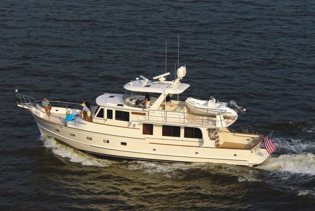 Fleming 55: Time-Tested Motoryacht - Fleming delivers less than a dozen 55s each year, helping to keep inventory low and brokerage values high.