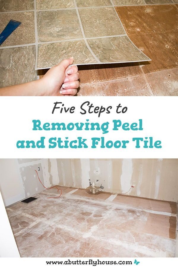 How To Remove Peel And Stick Floor Tile Peel Stick Floor Peel