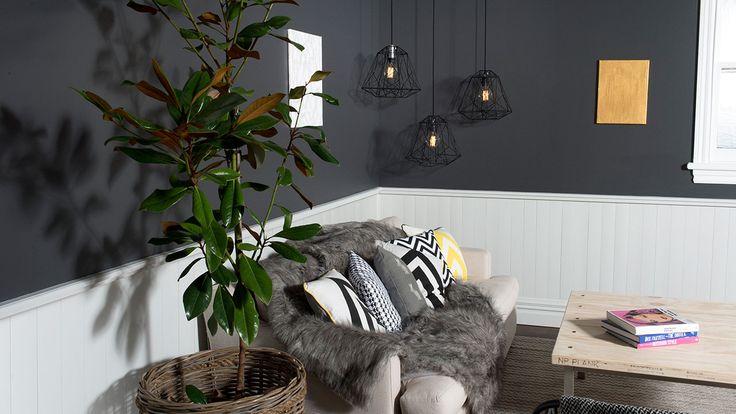 Create a contemporary lounge - Mitre 10