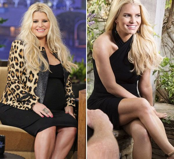 Jessica Simpson: How She Lost 50 Pounds Of Baby Weight