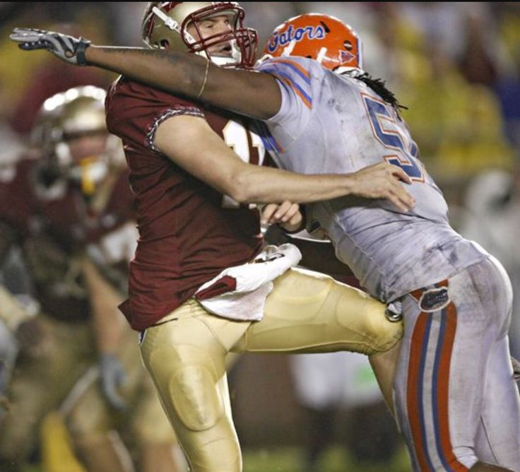 Brandon spikes big hit on nobody quarterback on rive FSU