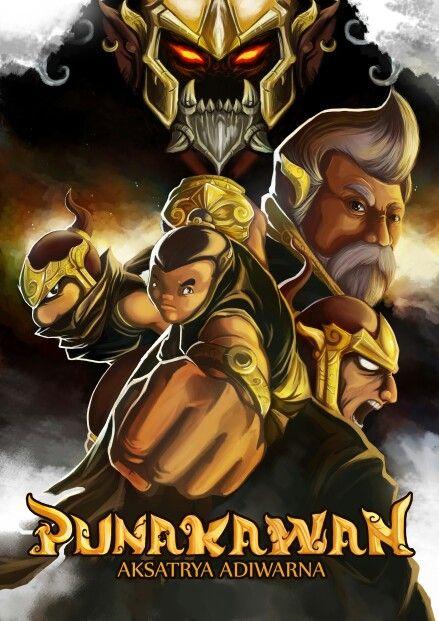 Punakawan aksatrya adiwarna game cover by gigondgrimlock