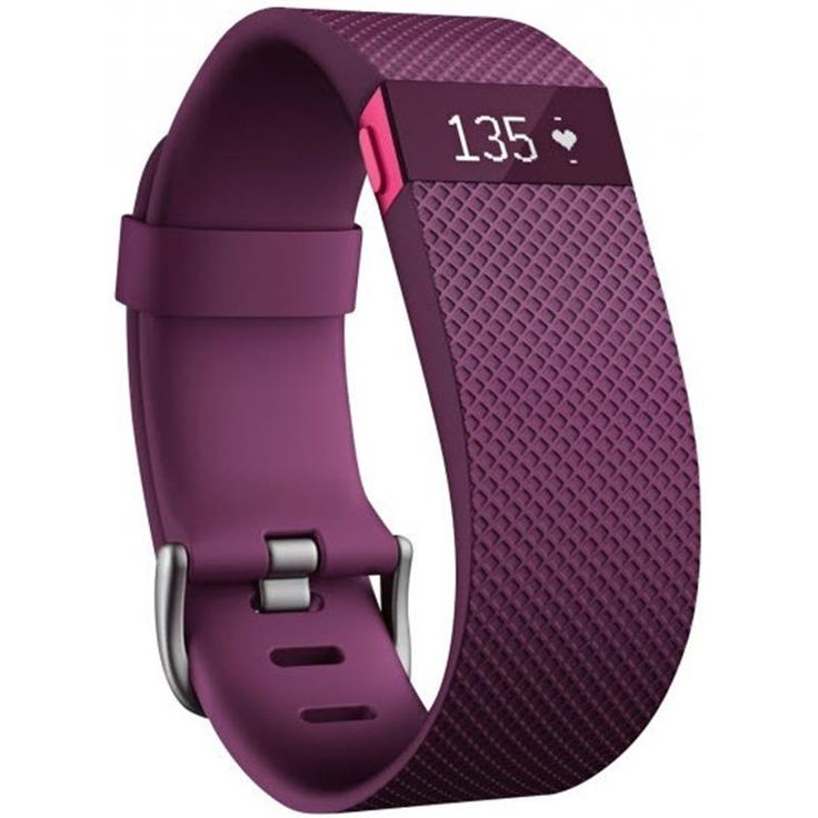 Fitbit Charge HR (Plum/Large)