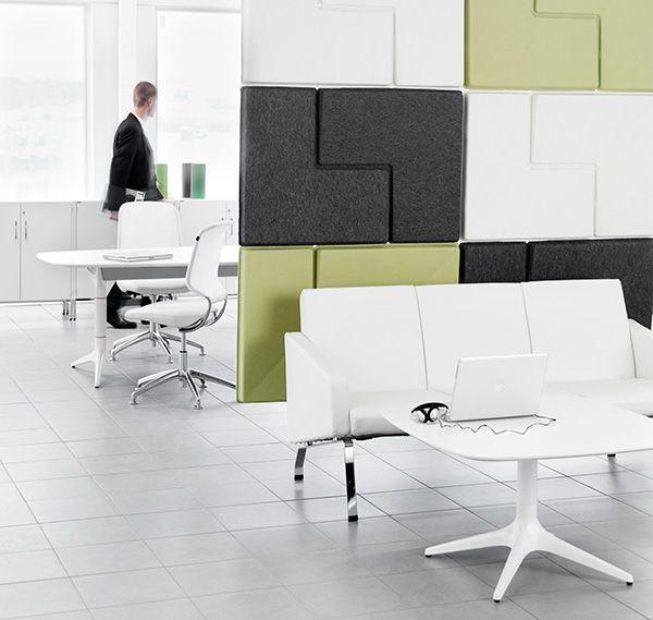 Vegg- og skjermveggsystem -  Å jobbe i åpent kontorlandskap er ikke nytt. Det gir arealeffektivitet og stimulerer til interaksjon mellom medarbeiderne. Forskning har i midlertid vist at et åpent landskap også fører med seg problemer omkring akustikk, integritet og fleksibilitet samt at noen oppgaver ikke egner seg for denne typen løsning.