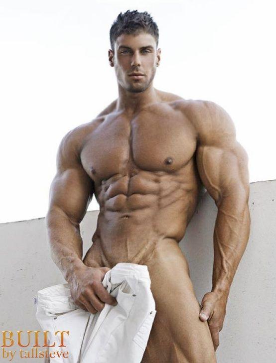 Sexy muscular naked men